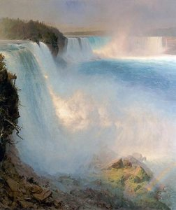 Frederic Church, Niagara Falls, from the American Side, 1867