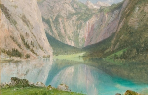 Frederic Church, Obersee, July 1868