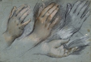 F. Barocci, Study of Hands