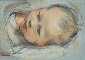 F. Barocci, Study of a Newborn