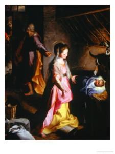 F. Barocci, Nativity