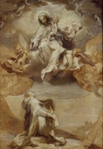 F. Barocci, Chiaroscuro sketch for Madonna of the Rosary